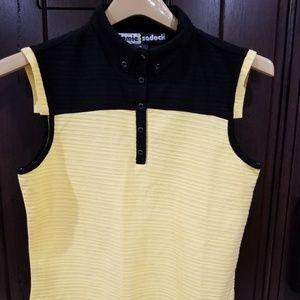 Jamie Sadock Sz M Sleeveless Golf Shirt Top Women